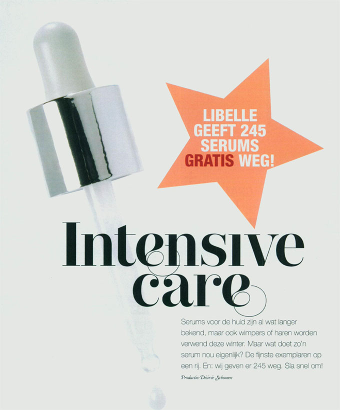 Libelle Beauty by roos haarserum