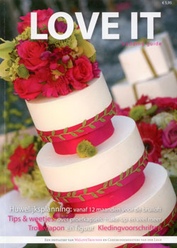 Love It wedding guide cover hairextensions
