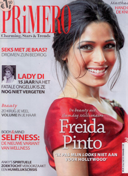 big hair Primero Magazine cover