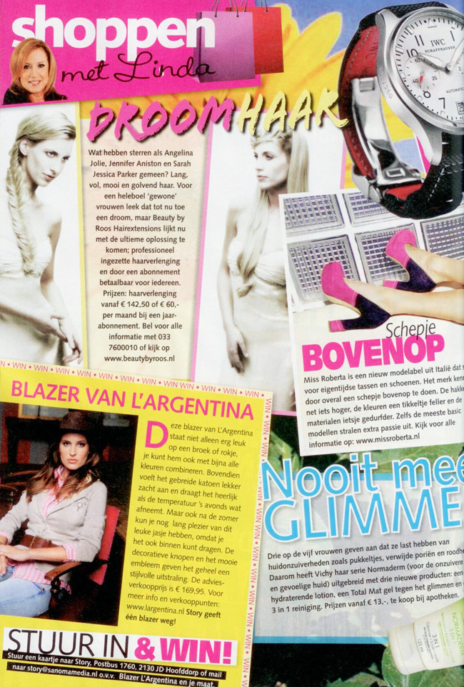 Story Magazine shoppen voor hairextensions