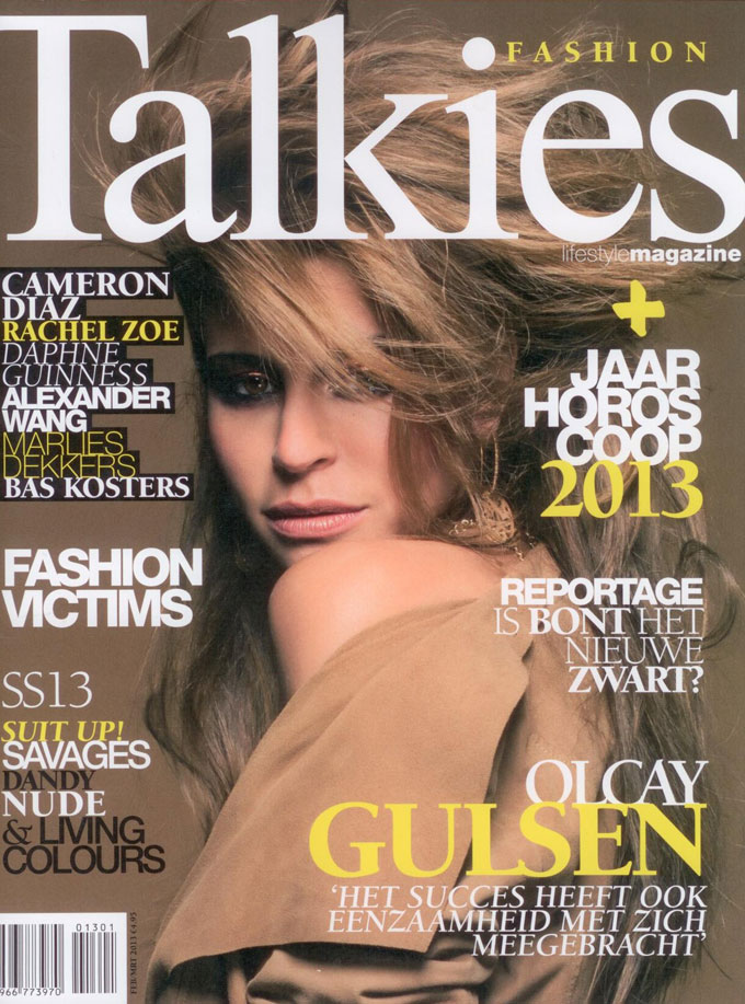 Beauty by Roos Hairextensions op cover Talkies Magazine