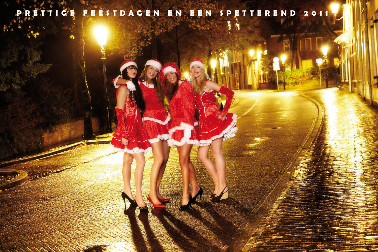 Kerst 2011 bij Beauty by Roos Hairextensions