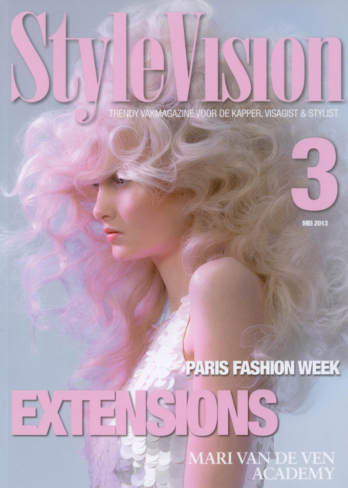 Beauty by Roos Hairextensions op cover StyleVision