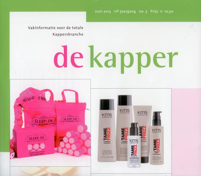 Cover van Vakblad de Kapper