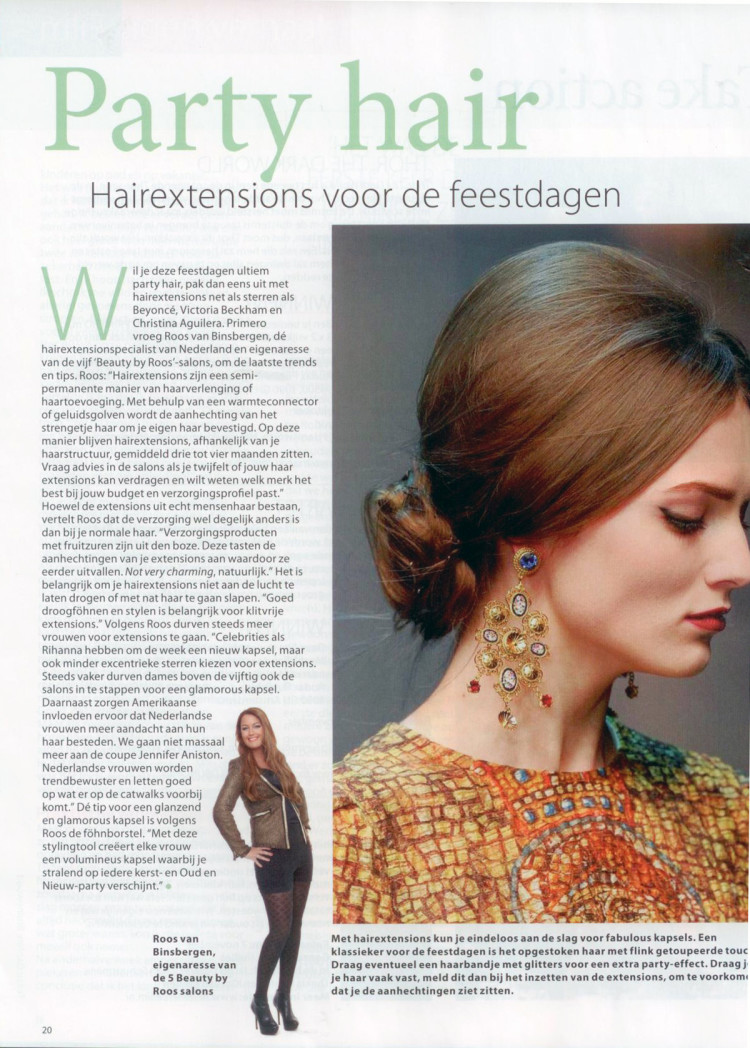 artikel party hair