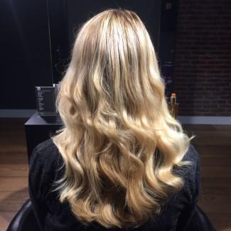hairextensions cadeau geven van bobline naar lang haar