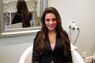 Catarina neemt Great Lengths hairextensions bij Beauty by Roos