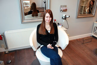 Kimberly uit Kampen met hairextensions van Beauty by Roos
