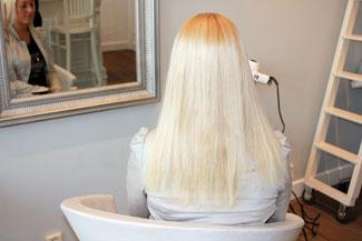 Kapsel zonder hairextensions