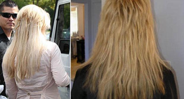 hairextensions zien zitten