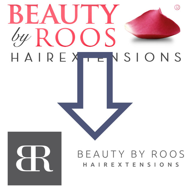 nieuwe huisstijl beauty by roos hairextensions