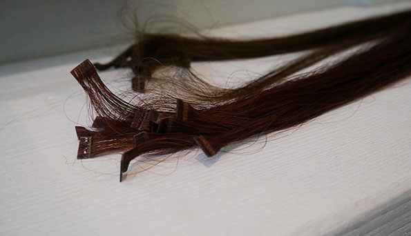 Verliezen van hairextensions