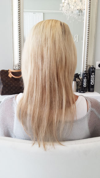 zonder 150 hairextensions