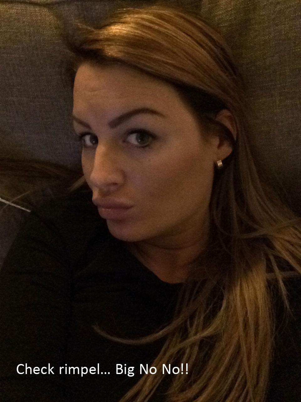 roos selfie duckface