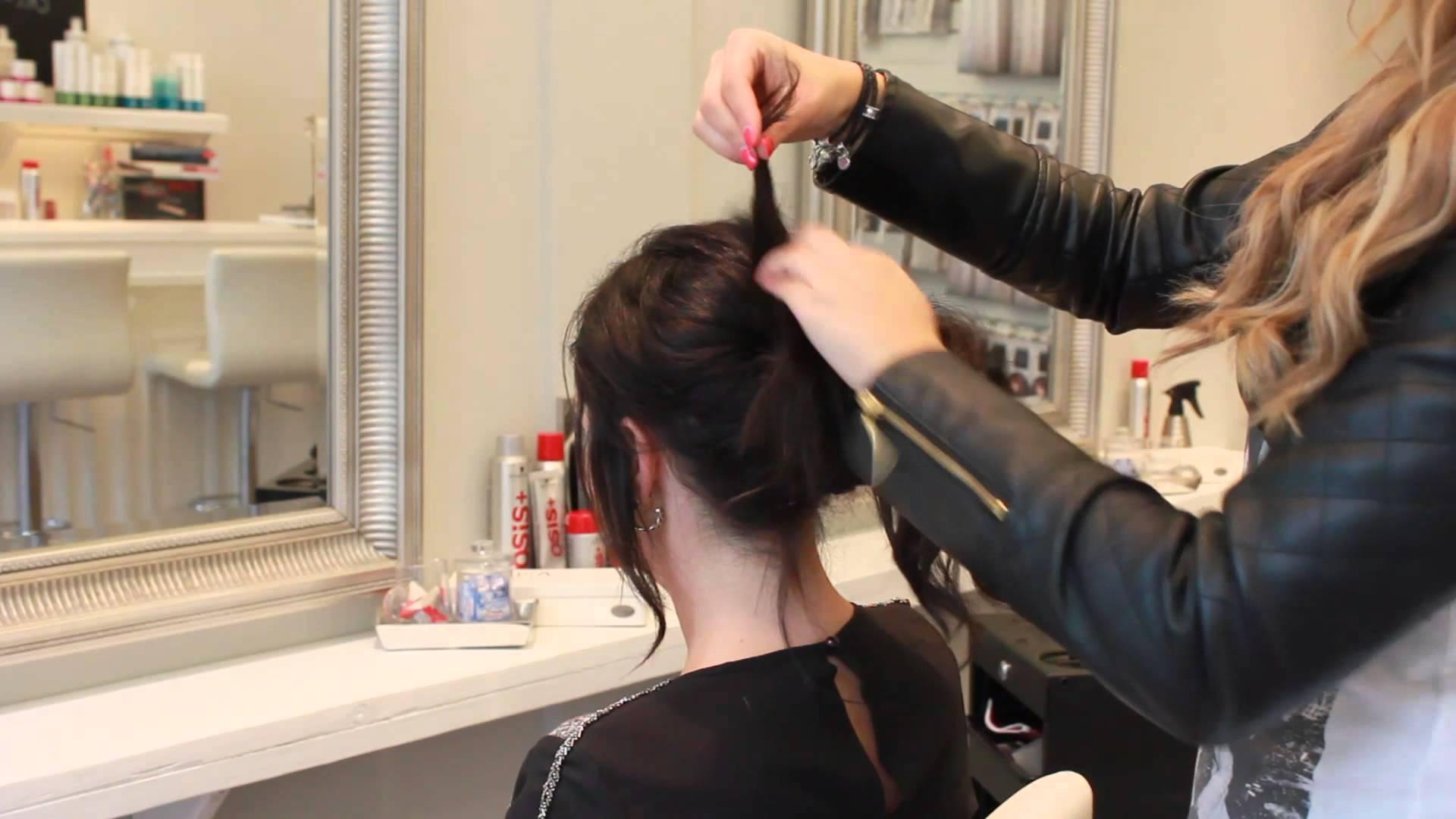 Stylingtip De nochalante knot met hairextensions