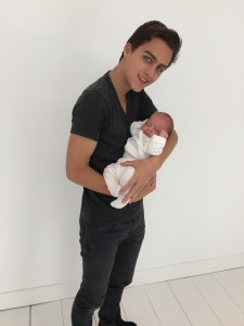 Damian - with Luca