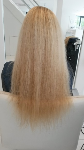 zonder great lengths blond