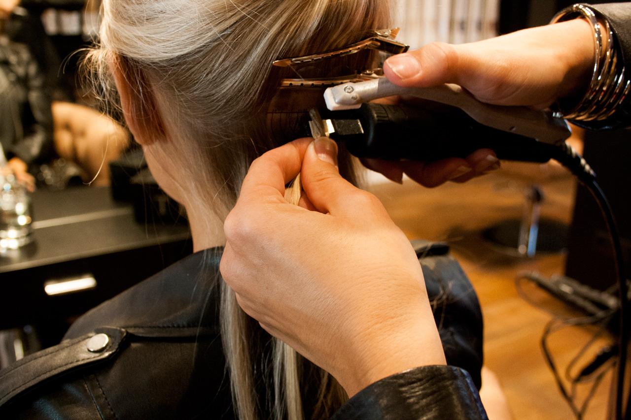 hairextensions zetten rotterdam