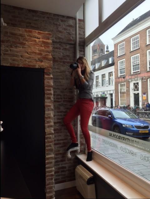 Gluren bij de buren in Den Bosch (check out our new salon)…