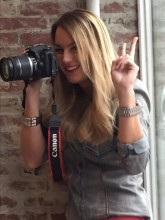 Roos van Binsbergen - camera canon foto's maken
