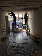 verbouwing salon Den Bosch