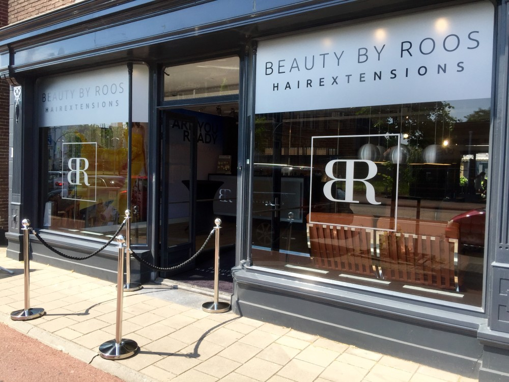Beauty by Roos Hairextensions salon Hengelo gevel
