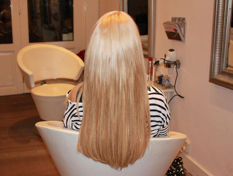 jonge moeder hairextensions ervaring