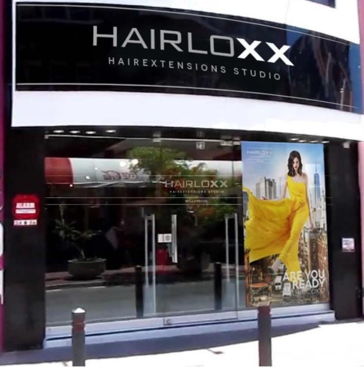 Hairloxx hairextensions studio impressie
