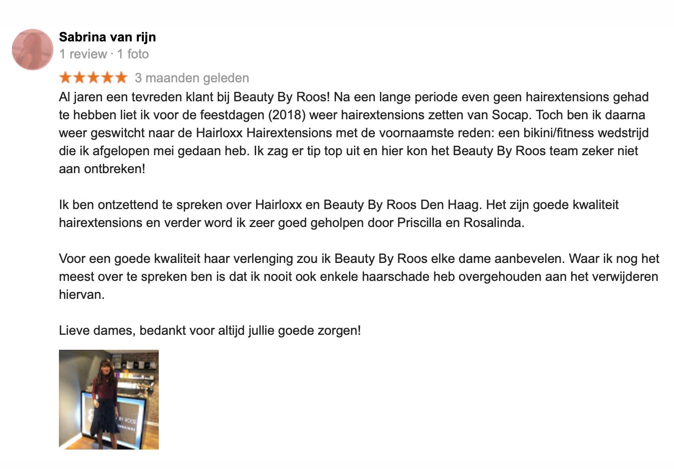 Hairextensions plaatsen salon Den Haag