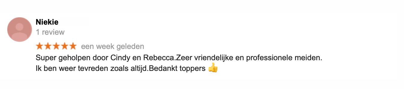 Recensie BBR Amsterdamkopie