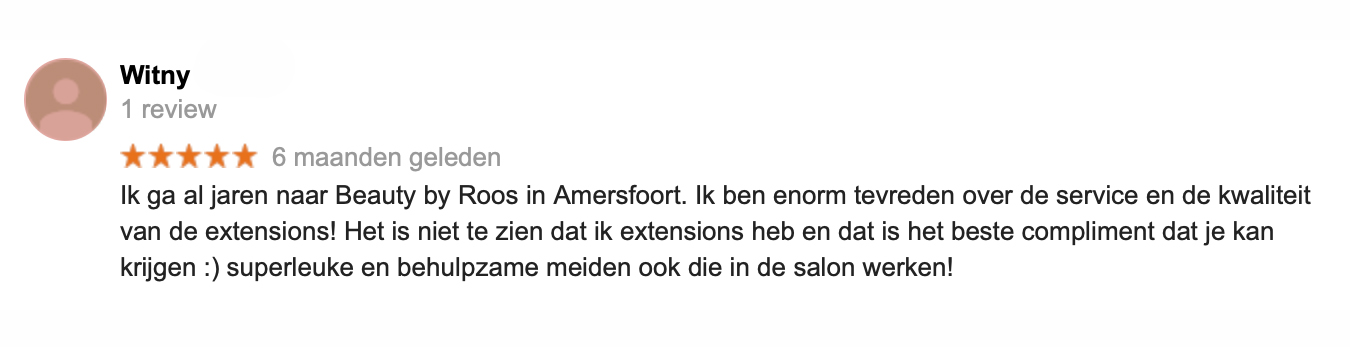 Review Beauty by Roos Amersfoort 2