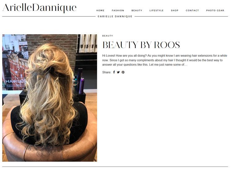 Arielle Dannique Arielle Knol hairextensions