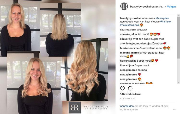 dee van der Zeeuw - Everydee - hairextensions