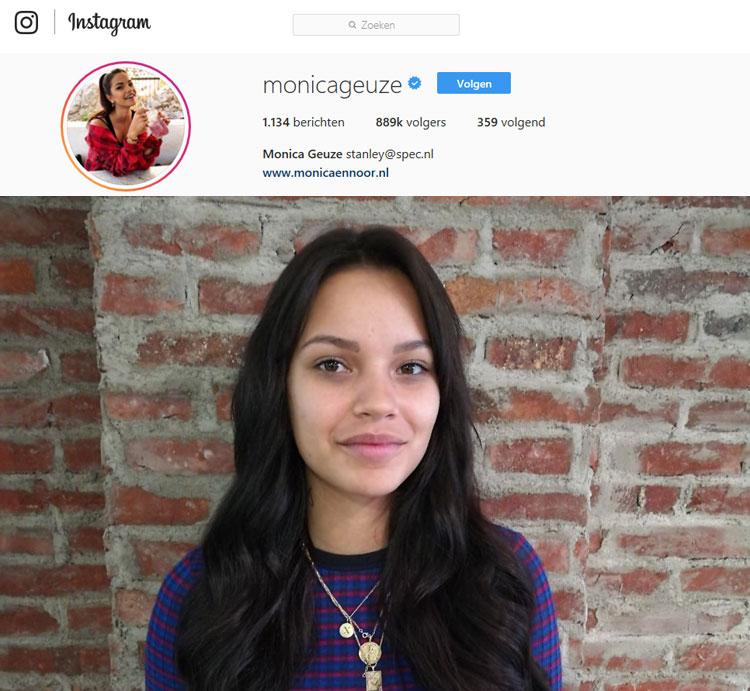 monica geuze draagt hairloxx hairextensions