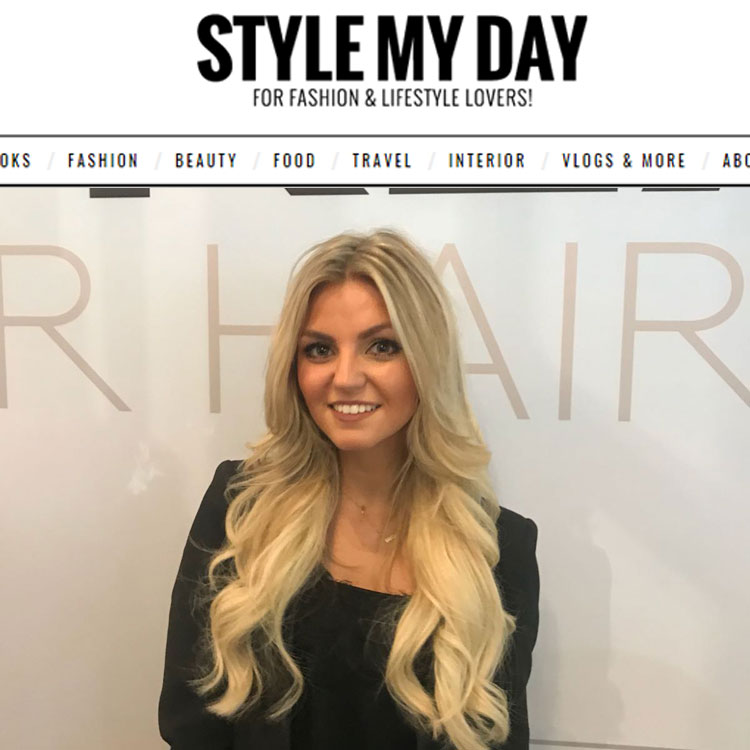 style my day roos van der aa hairextensions
