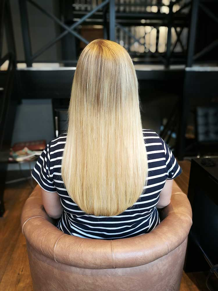 Beauty by Roos zet geen clip in extensions