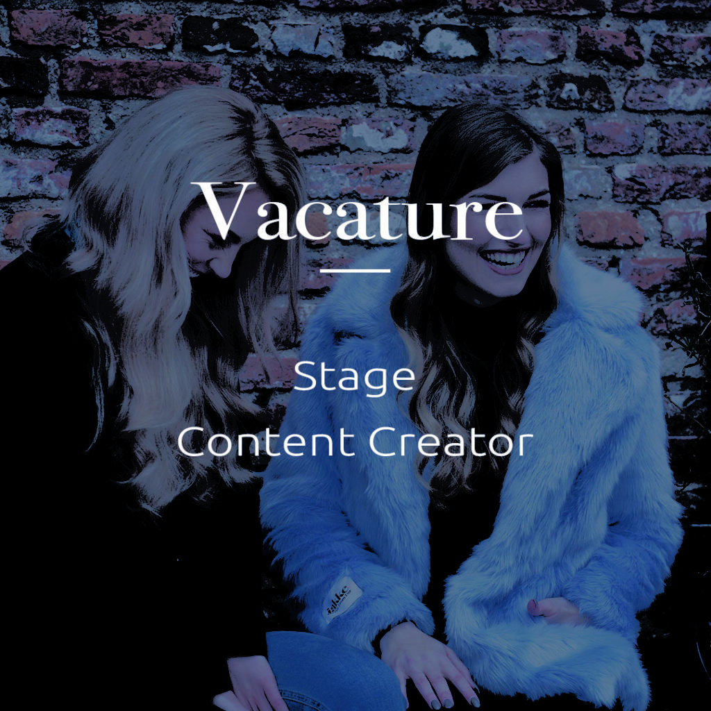 Vacature stage content creator