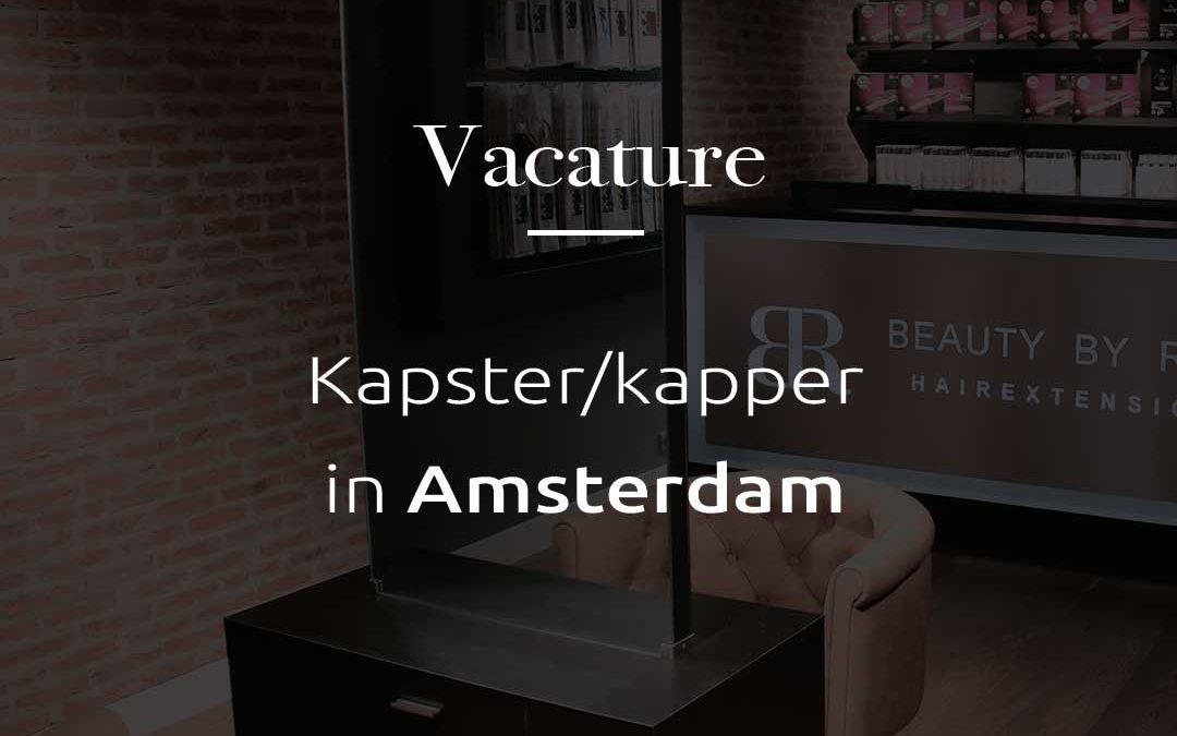Vacature | Kapster/hairstylist in Amsterdam
