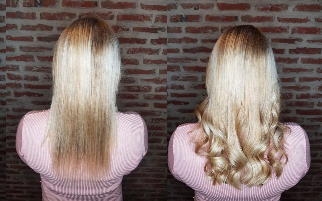 De mooiste hairextensions make-overs in December!