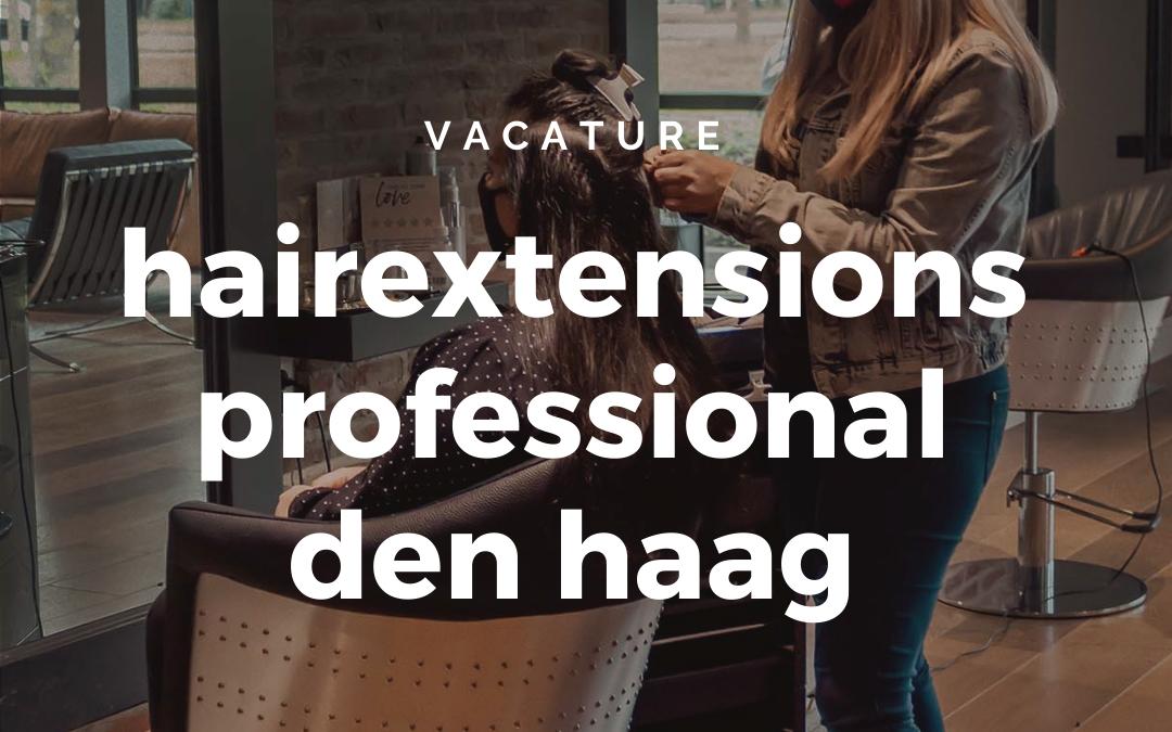 Vacature | Kapster/hairstylist Den Haag