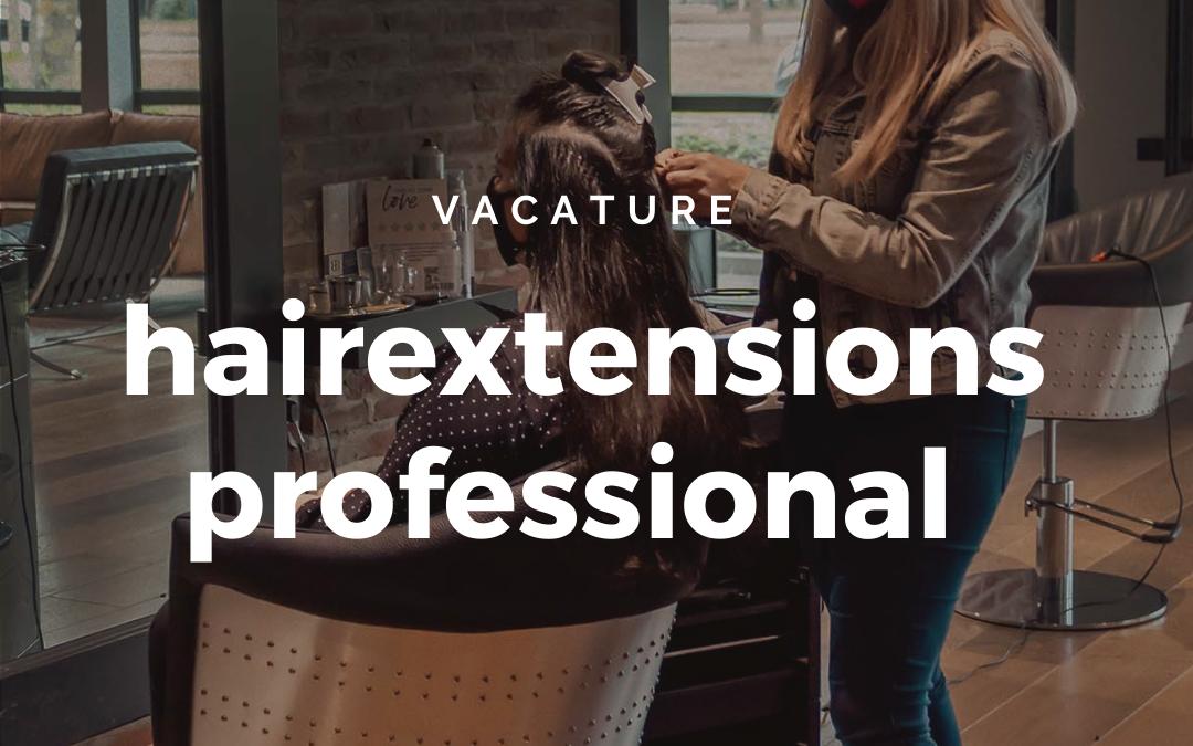 Vacature | Kapster/hairstylist alle salons